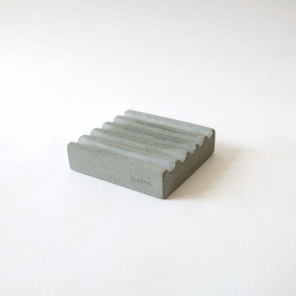 WAVES Stone Soap Dish Square